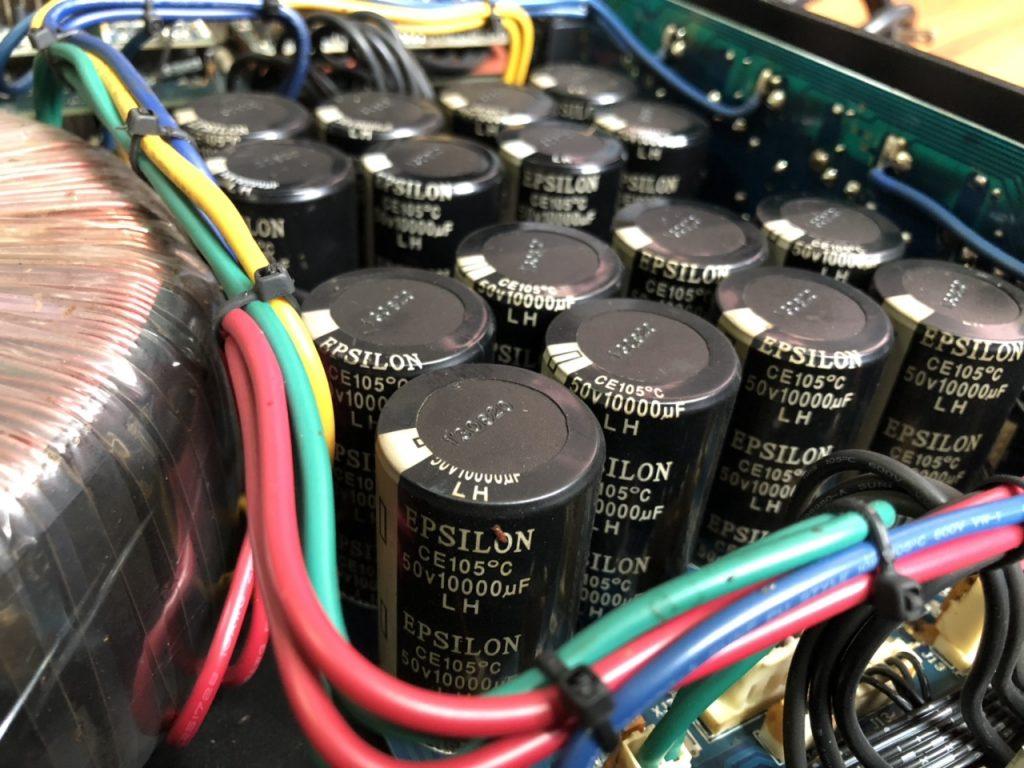 16 tụ đại lớn, cho khả năng xử lý âm thanh vượt trội
