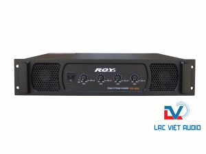 Cục đẩy 4 kênh ROY RS-650 dành cho karaoke
