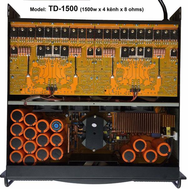 Cục đẩy công suất AAP Audio TD-1500 chính hãng chất lượng