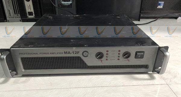 Đẩy bãi CAF MA 12F được đánh giá cao về khả năng khuếch đại âm thanh