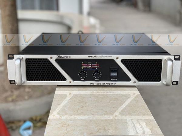 Cục đẩy bãi XKAPRO MA 600 được đánh giá cao về khả năng khuếch đại âm thanh