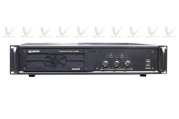 Cục đẩy 3 kênh giá rẻ BIK VM 630A: 5.000.000 VNĐ