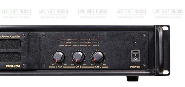 Thông số kỹ thuật BIK VM 830A