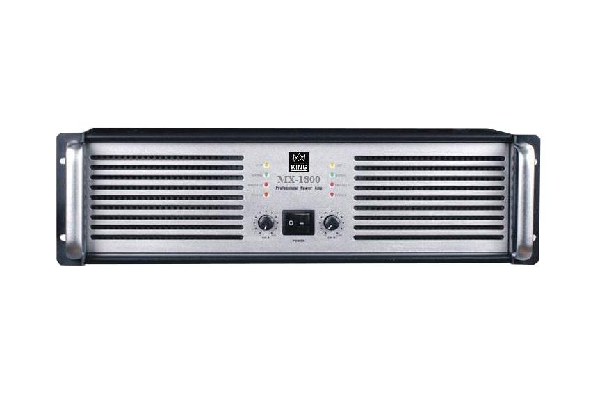 Cục đẩy công suất 2 kênh KING MX-1800