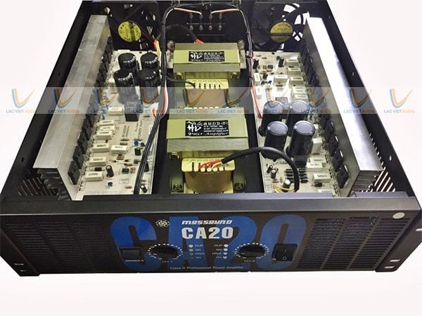 Cục đẩy 24 sò được trang bị hệ thống tản nhiệt tối ưu