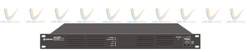 Cục đẩy công suất ASIMA SA-2500 có nhiều đặc điểm nổi bật