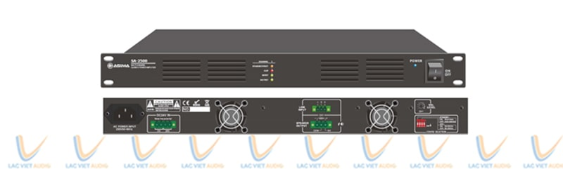 ASIMA SA-4500 là sản phẩm thuộc dòng cục đẩy công suất 4 kênh được tích hợp bộ khuếch đại công suất kỹ thuật số công nghệ chuyển mạch thông minh