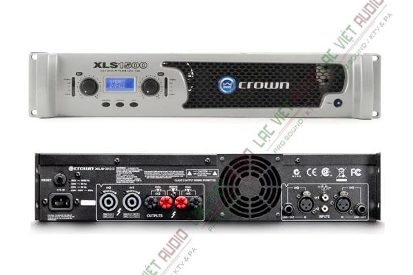 Cục đẩy class D giá rẻ - cục đẩy Crown XLS 1500: 10.800.000 VNĐ