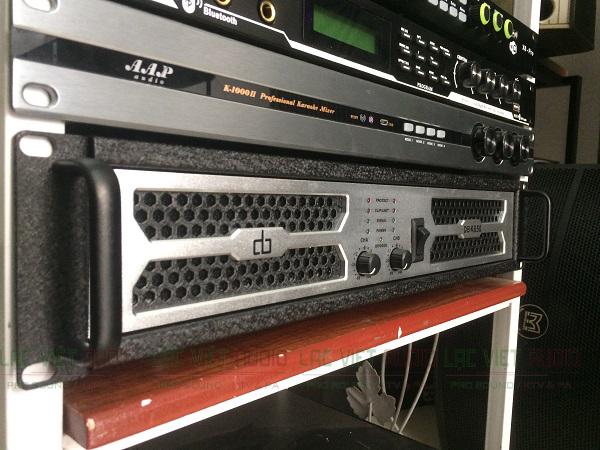 Cục đẩy DB K650 nối ghép cùng các thiết bị khác trong hệ thống âm thanh