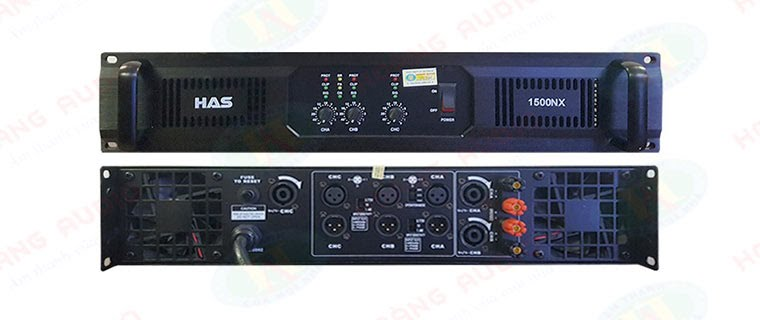 Cục đẩy 3 kênh HAS 1500NX