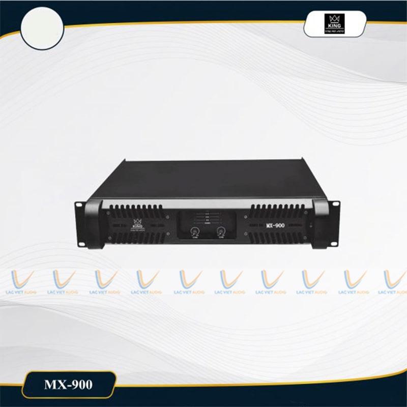 Cục đẩy công suất King MX900 mang nhiều đặc điểm nổi bật
