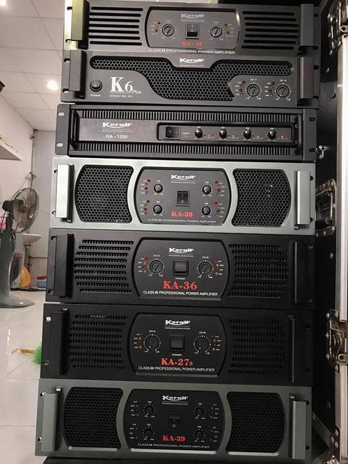Cục đẩy KA39 luôn có mặt trong các dàn âm thanh chuyên nghiệp