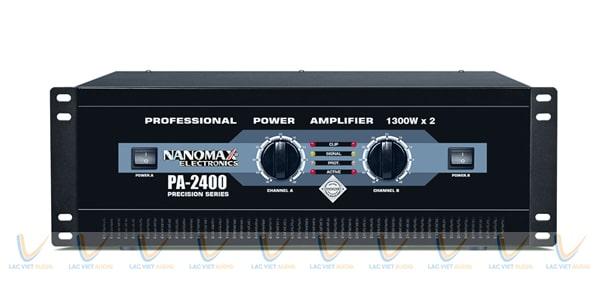 Cục đẩy 64 sò Nanomax PA 2400: 7.000.000 VNĐ