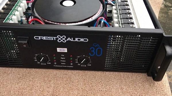 Giới thiệu về cục đẩy công suất Crest Audio