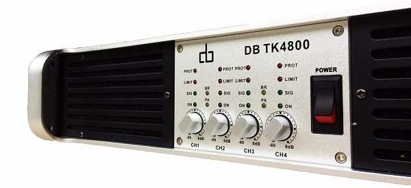 Cục đẩy DB TK4800 thiết kế 4 kênh độc lập với 3 chế độ tùy chỉnh