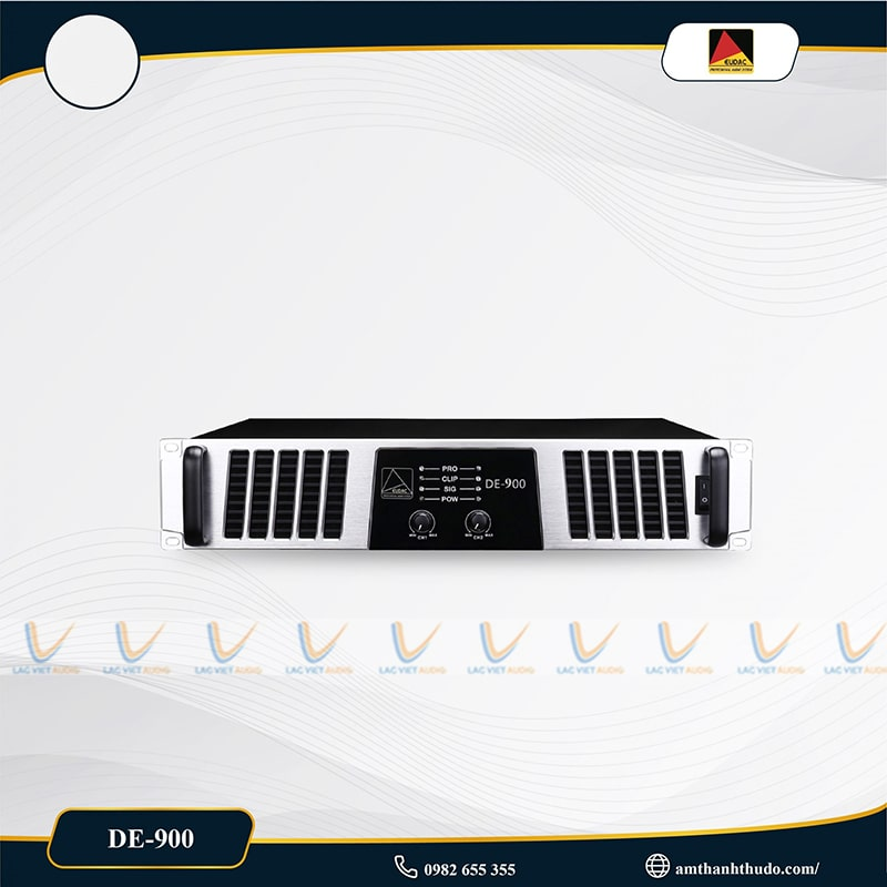Cục đẩy công suất EUDAC DE-900 có nhiều đặc điểm nổi bật