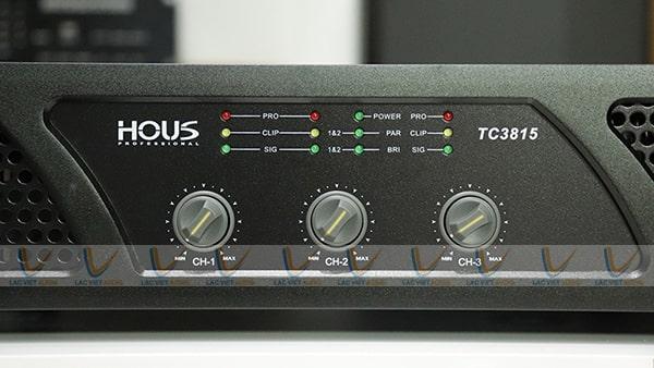 Hệ thống nút điều khiển của HOUS TC-3815