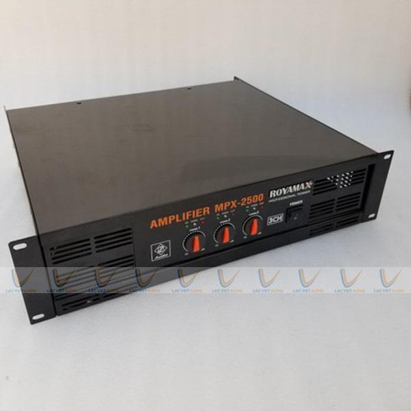 Thiết kế bên ngoài của ROYAMAX MPX-2500