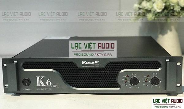 Cục đẩy công suất Việt Nam Korah K6 Plus: 9.500.000 VNĐ