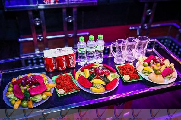 Cung cấp thực phẩm đồ uống cho phòng karaoke