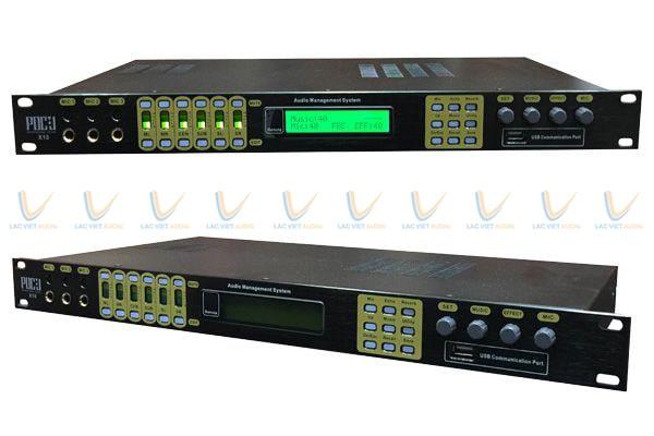 Vang số được trang bị khả năng xử lý và điều chỉnh tín hiệu âm thanh vượt trội