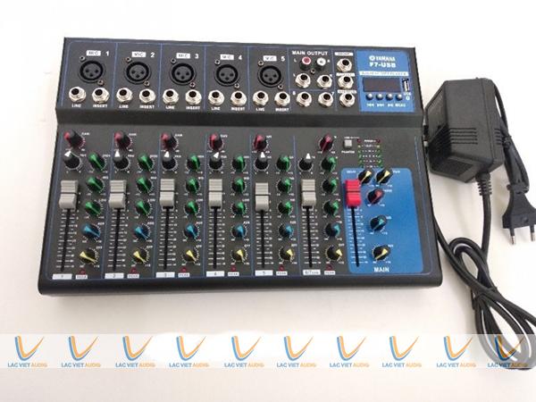 Bộ thiết bị và các tính năng của Yamaha f7 USB