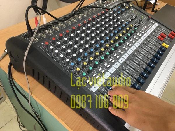 Bàn mixer chất lượng cao, được Lạc Việt audio setup