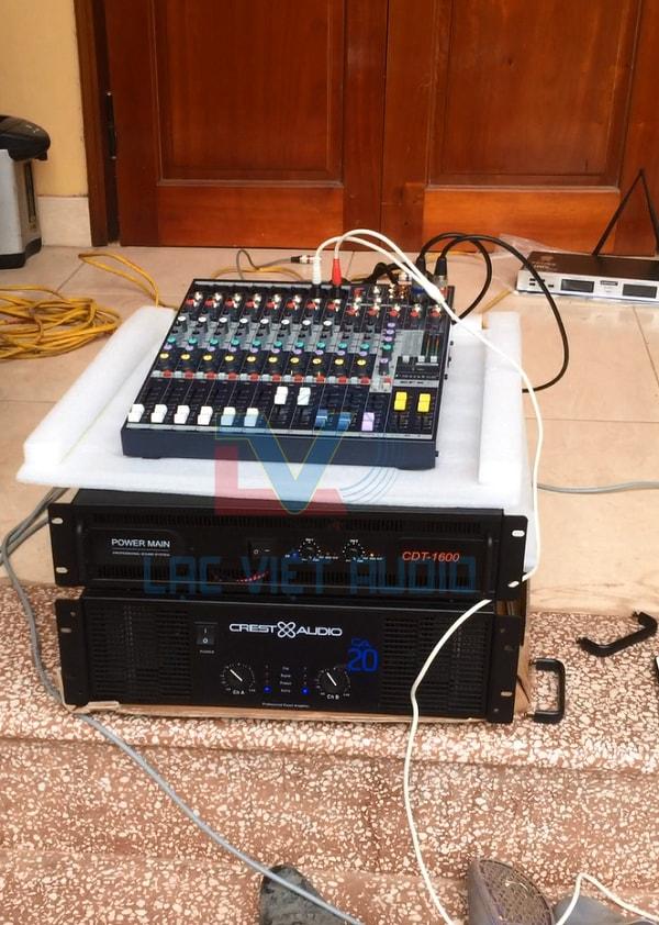Cục đẩy và bàn mixer chất lượng cao