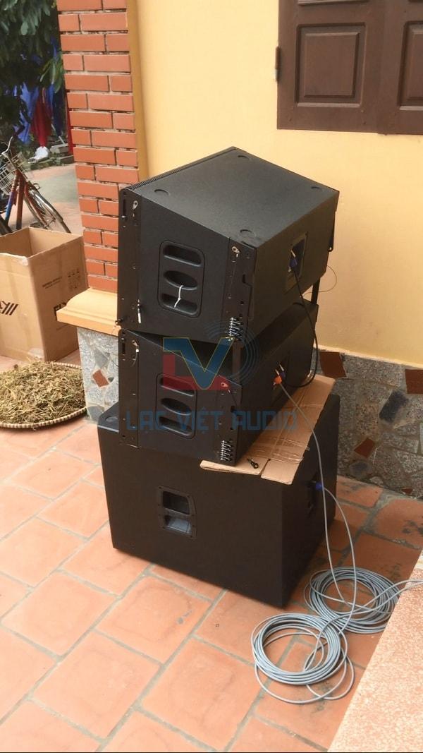 Loa array và loa SUB JBL 818S chất lượng vượt trội