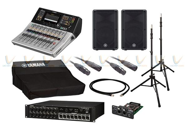 Bộ thiết bị của Mixer Yamaha Digital TF1
