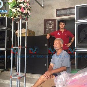 Dàn âm thanh cho khách hàng Nam Định