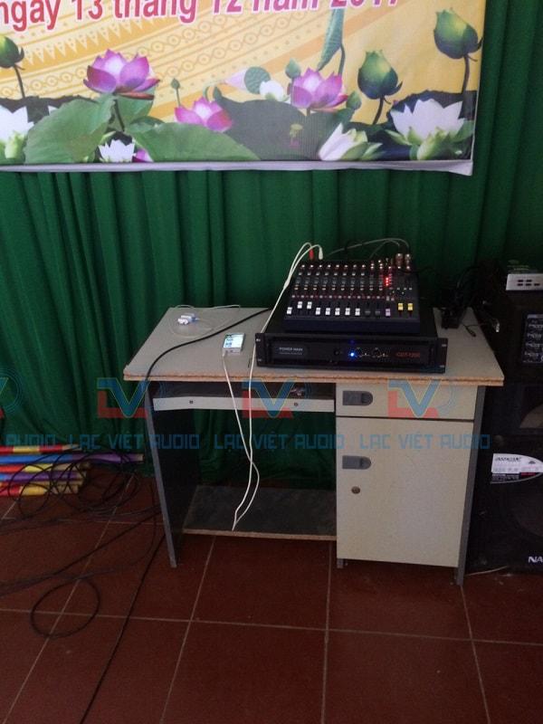 Hệ thống âm thanh xử lý trung tâm