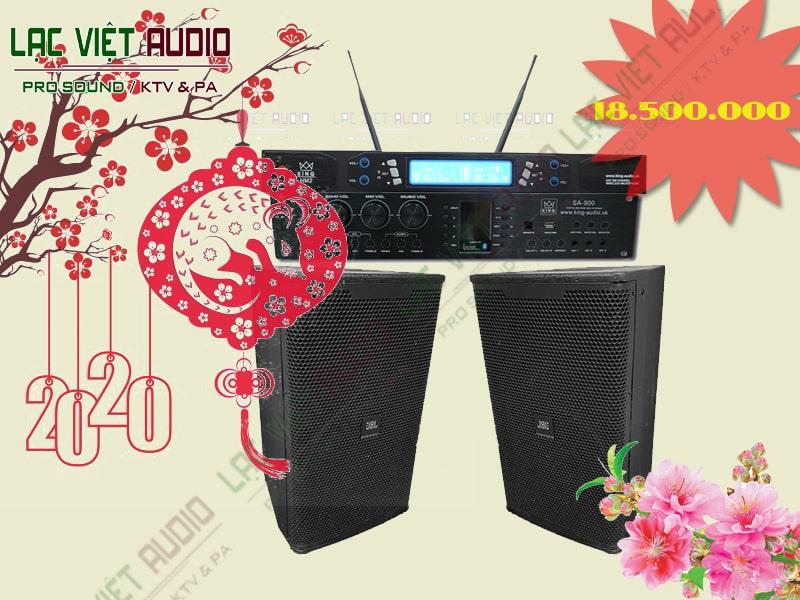 Giới thiệu tổng quan về dàn thiết bị âm thanh karaoke gia đình