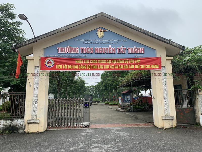trường THCS Nguyễn Tất Thành - Hưng Yên