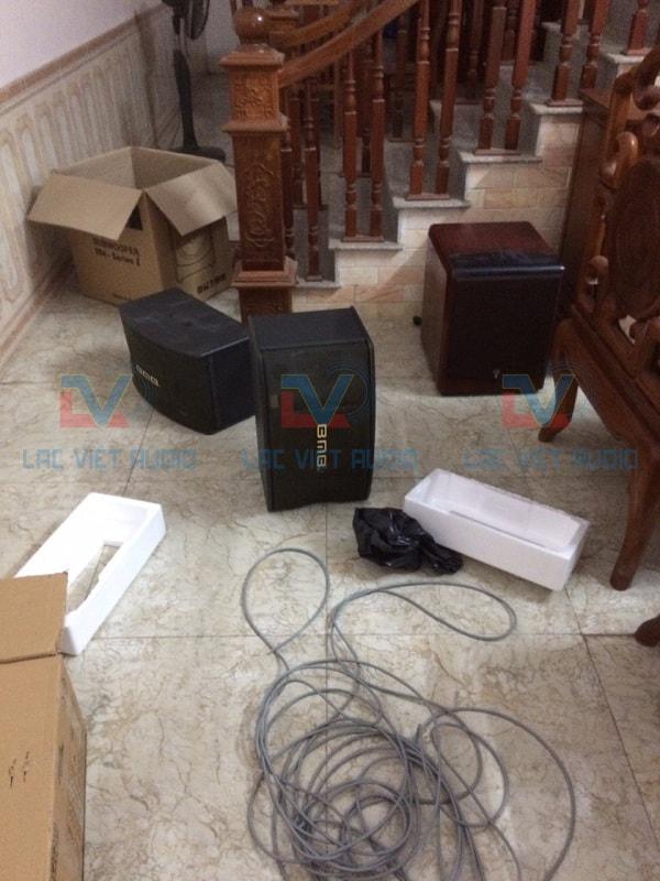 Lạc Việt Audio lắp đặt tận nhà cho khách hàng
