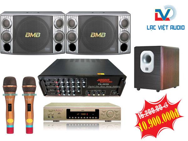 Bộ dàn karaoke gia đình LV03 trị giá 10.900.000đ