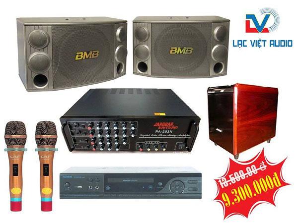 Bộ dàn karaoke gia đình LV01 trị giá 9.300.000