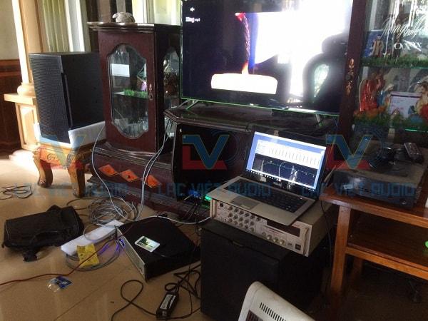 Set-up âm thanh bằng hệ thống máy tính chất lượng cao