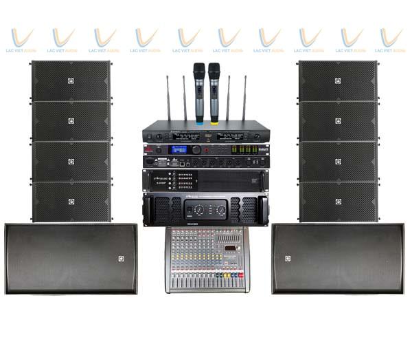 Dàn loa array chất lương cao cho hệ thống âm thanh sân khấu sự kiện chuyên nghiệp