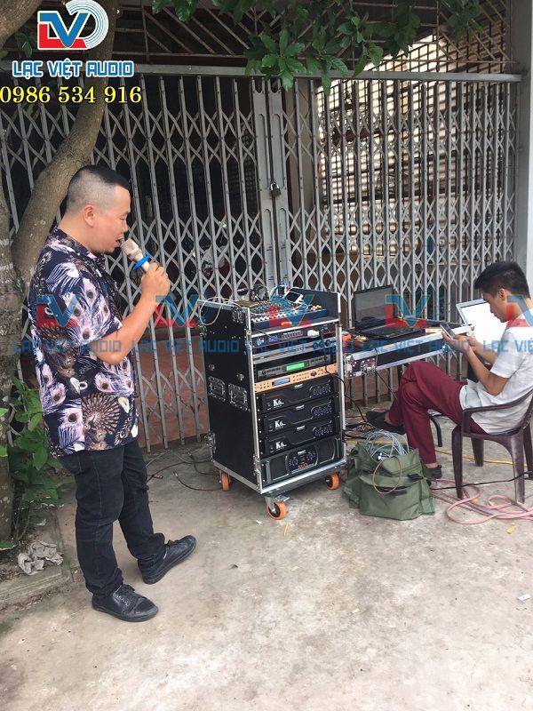 Lạc Việt Audio setup kỹ lưỡng trước khi bàn giao cho khách hàng
