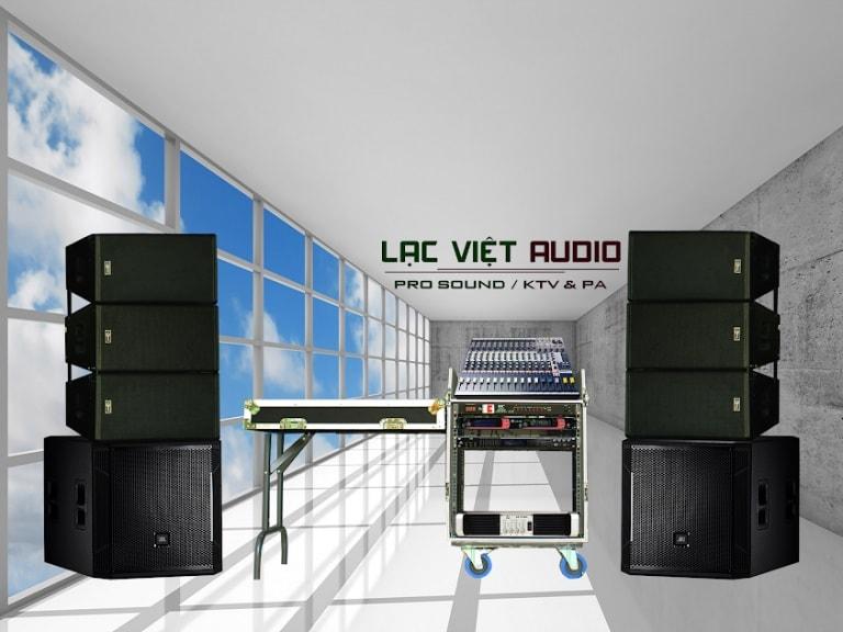 Một số dàn thiết bị âm thanh được Lạc Việt lắp đặt
