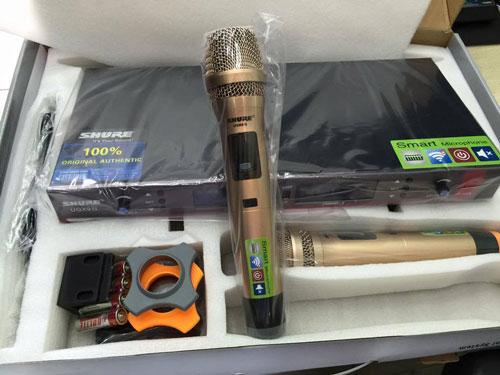 Đập hộp micro không dây shure UGX9 II
