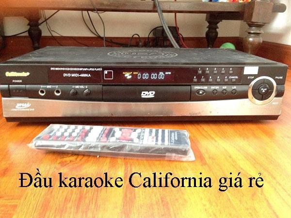 Đầu đĩa DVD California