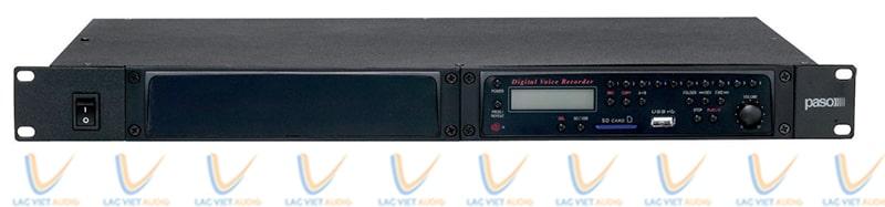 Đầu đọc tín hiệu kèm máy ghi âm Paso P8083-R