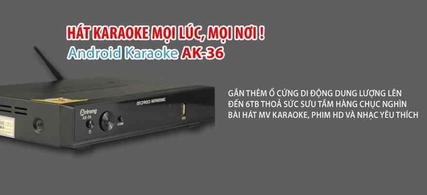 AK 36 là đầu karaoke của tương lai