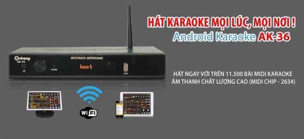 Đầu karaoke arirang AK 36