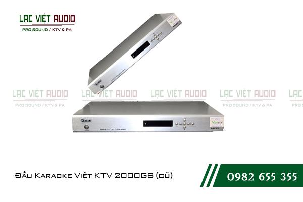 Đầu Karaoke Việt KTV 2000GB (cũ)