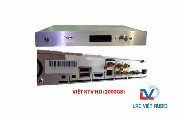 Đầu karaoke Việt KTV 2000GB mới.