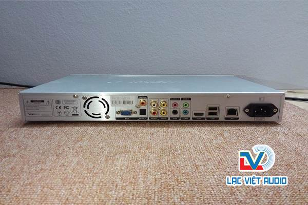 Mặt sau đầu karaoke Việt KTV 4TB