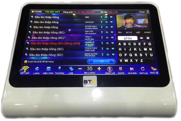 Đầu karaoke BTE V6 3TB